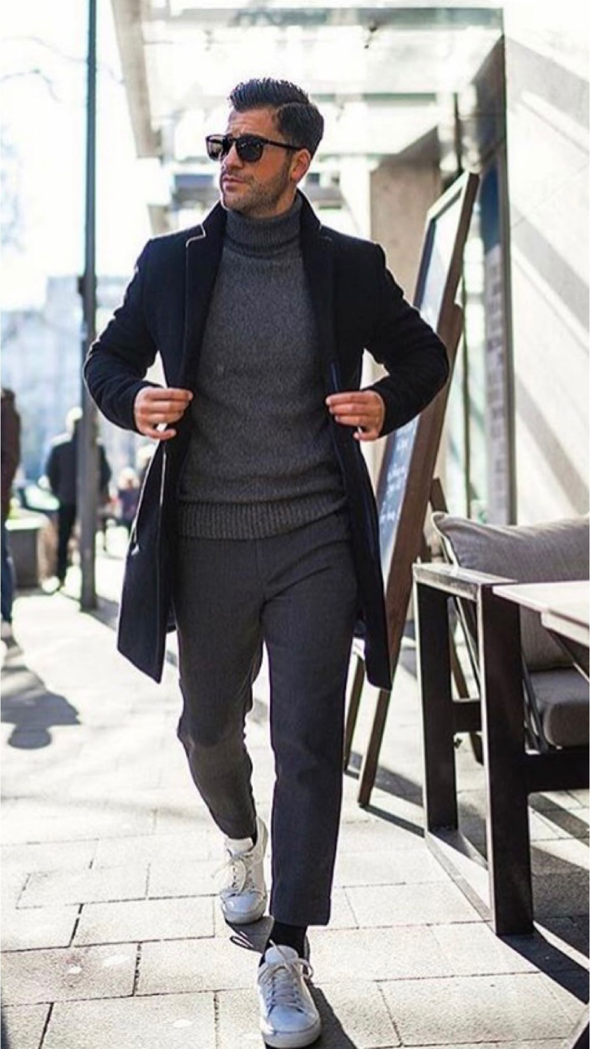 Business Casual Winter Outfit For Men