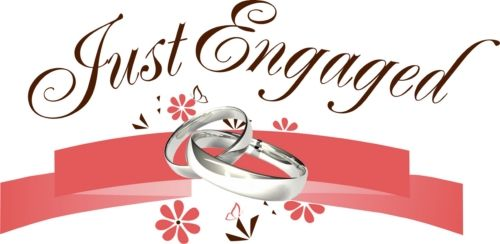 الف مبروك الخطوبة Engagement Wishes Place Card Holders Just Engaged