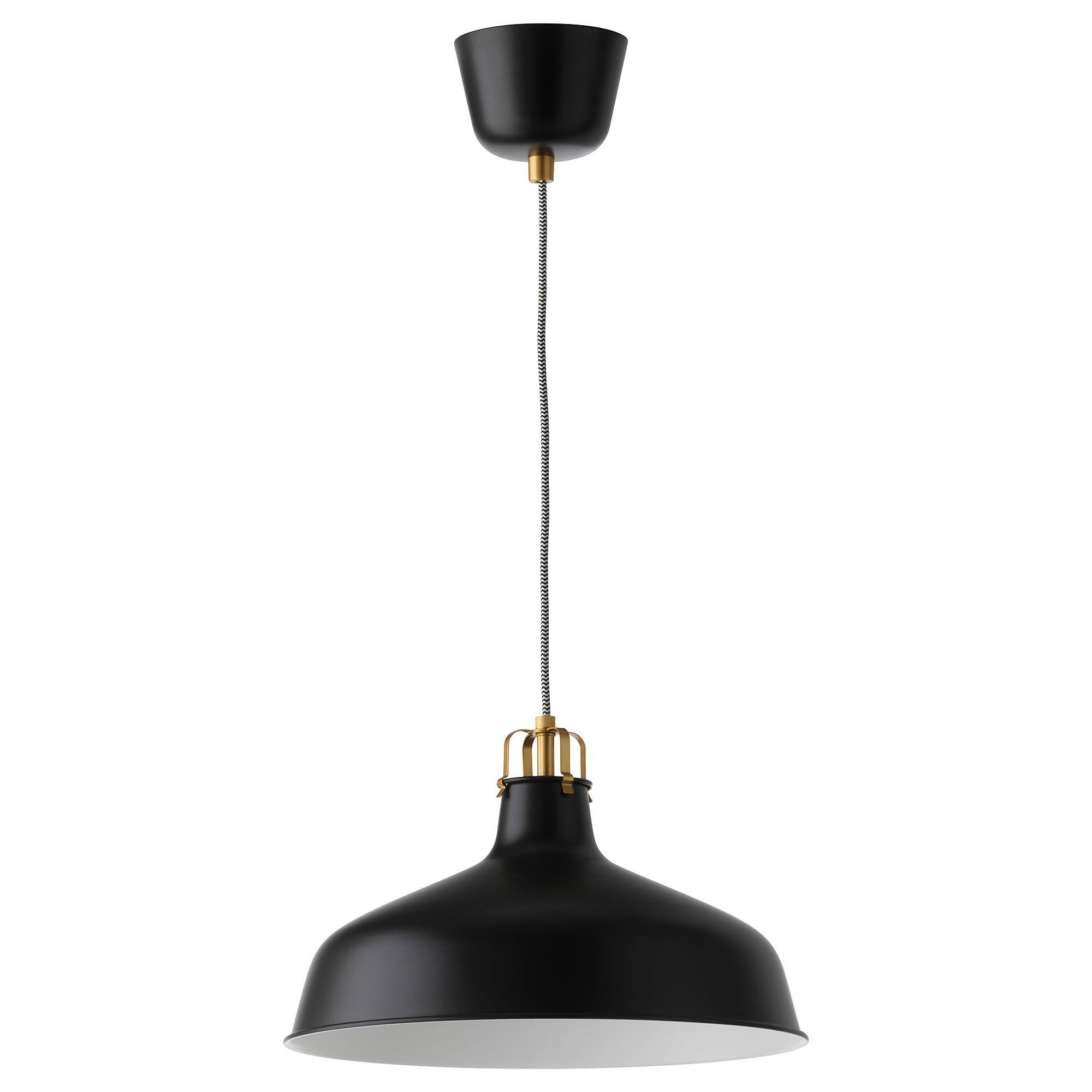 Ikea Ranarp Black Pendant Lamp In 2020 Pendant Lamp Dining