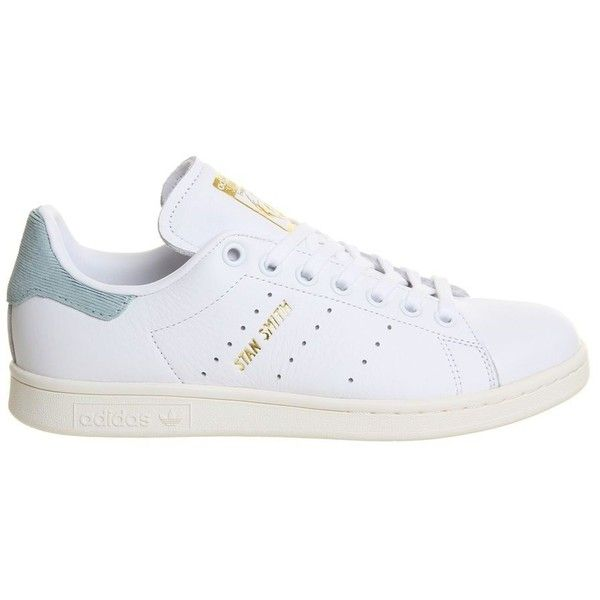 41248ee2748 Stan Smith Trainers by Adidas Supplied by Office (€89) ❤ liked on Polyvore