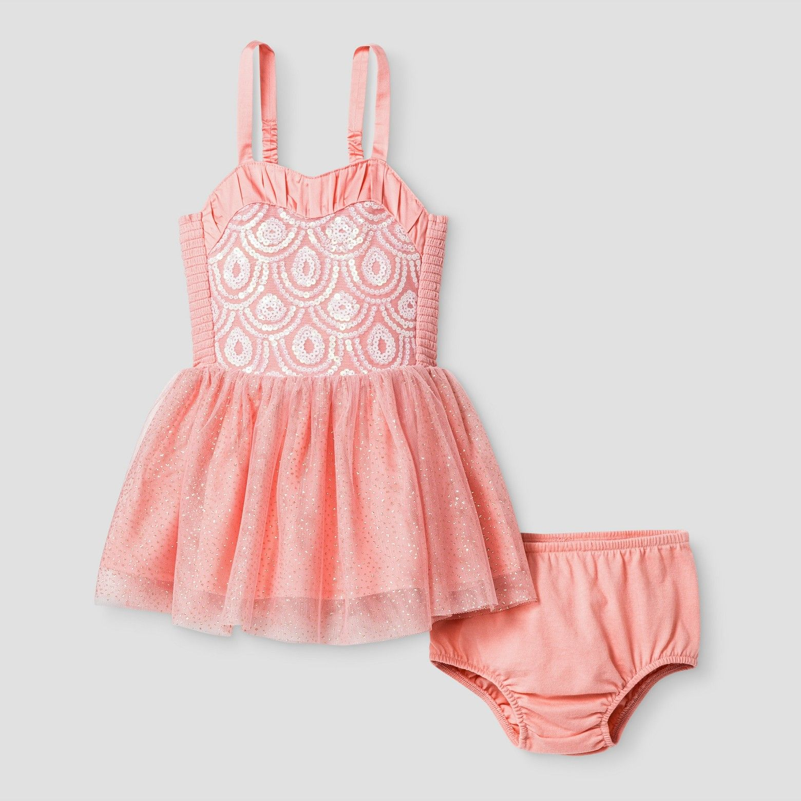 986775a7a $19.99 The Baby Girls' Tulle Scallop A-Line Dress by Genuine Kids from  OshKosh was inspired by classic ballet ensembles. This pretty dress  features elegant ...