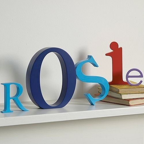 Explore Wooden Letters For Nursery And More