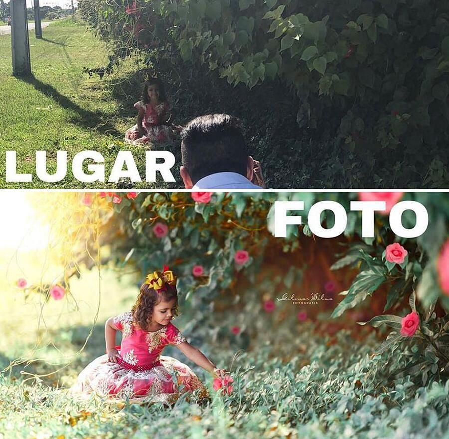 Fotografo sorprende Internet con il backstage delle sue foto