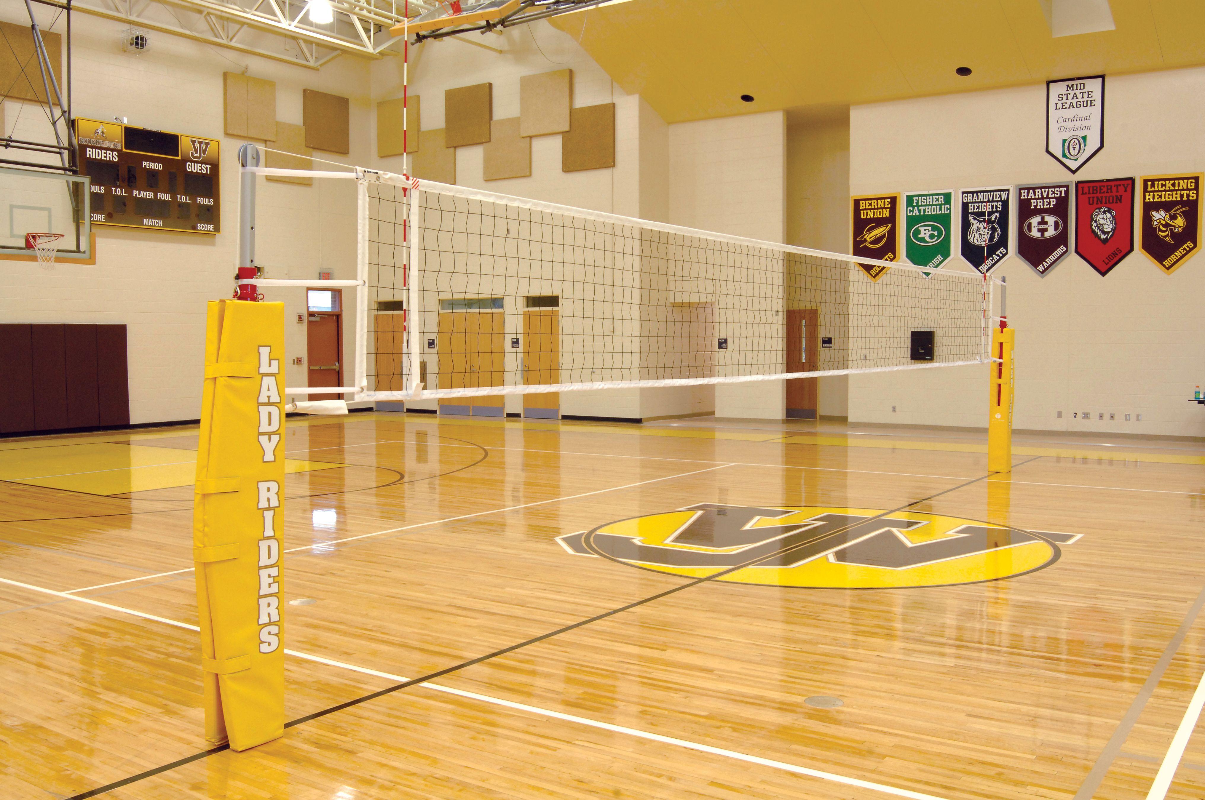 West Jefferson High School Aluminum Volleyball Net System Volleyball Net Outdoor Volleyball Net Indoor Volleyball
