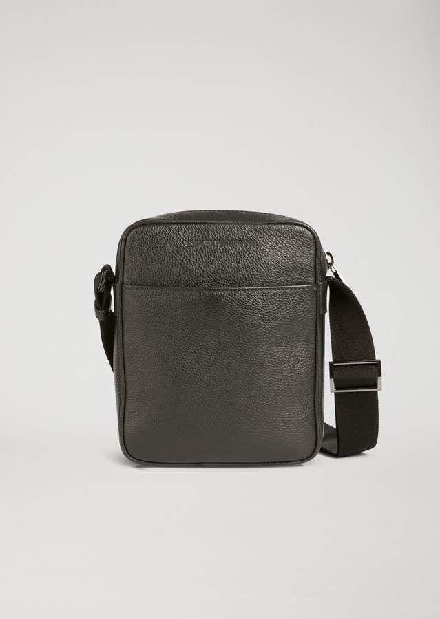 9a3b7c55a8 Grainy leather cross body bag | Leather | Leather crossbody bag ...