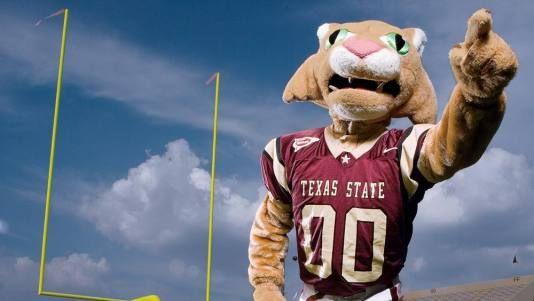 Mascots Bring School Spirit Texas State Texas State Bobcats