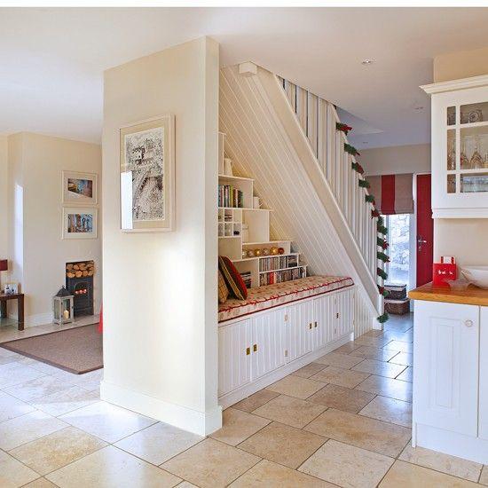 Neutral Open Plan Hallway Open Plan Kitchen Living Room Home