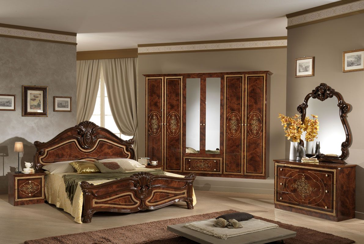 Classic Italian Bedroom - Home Design Picture  Italian bedroom