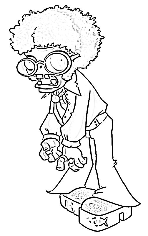 Plants Vs Zombie Coloring Pages Coloring Pages For Kids Cool