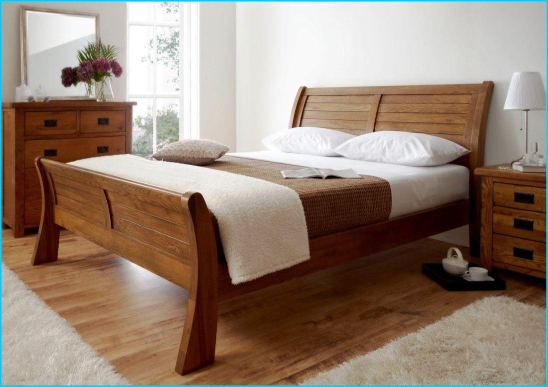 king size sleigh bed frame plans | HomeBuildDesigns | Pinterest