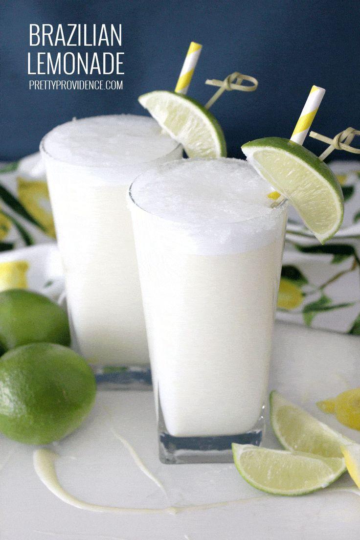 The Best Ever Brazilian Lemonade - Pretty Providence