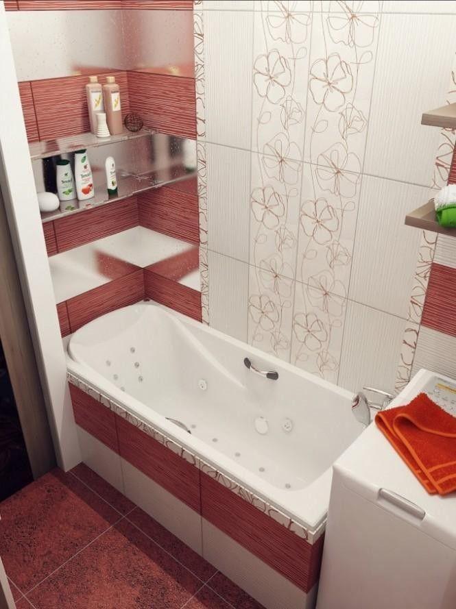 Małe łazienki Aranżacje Szukaj W Google Wnętrza Małe