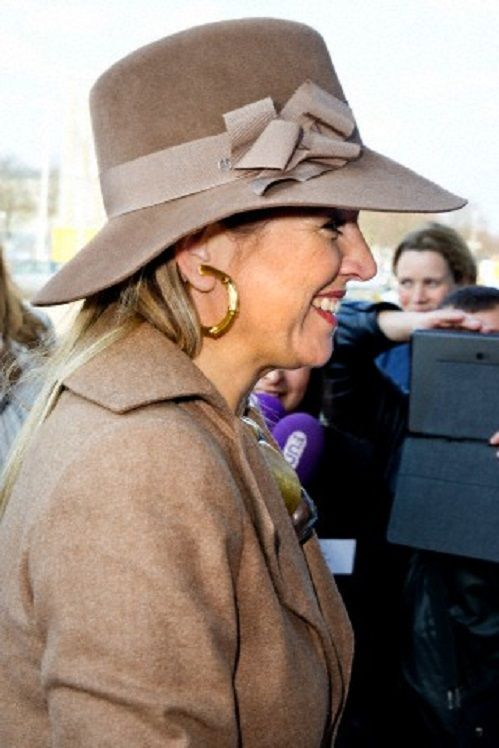 Dutch Queen Maxima attends a guest lecture on ROC anniversary, 27.03.2014