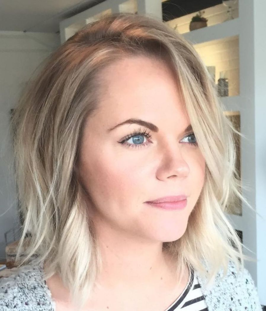 70 Perfect Medium Length Hairstyles for Thin Hair | Hair in ...