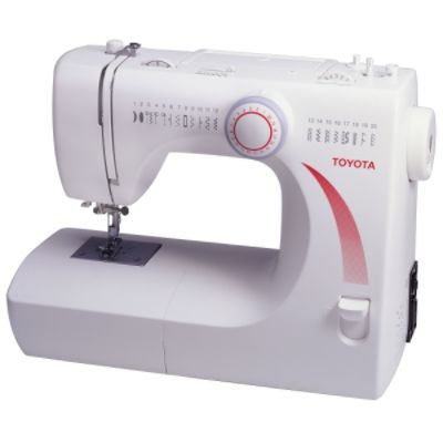 Toyota Sewing Machine - best button holes ever