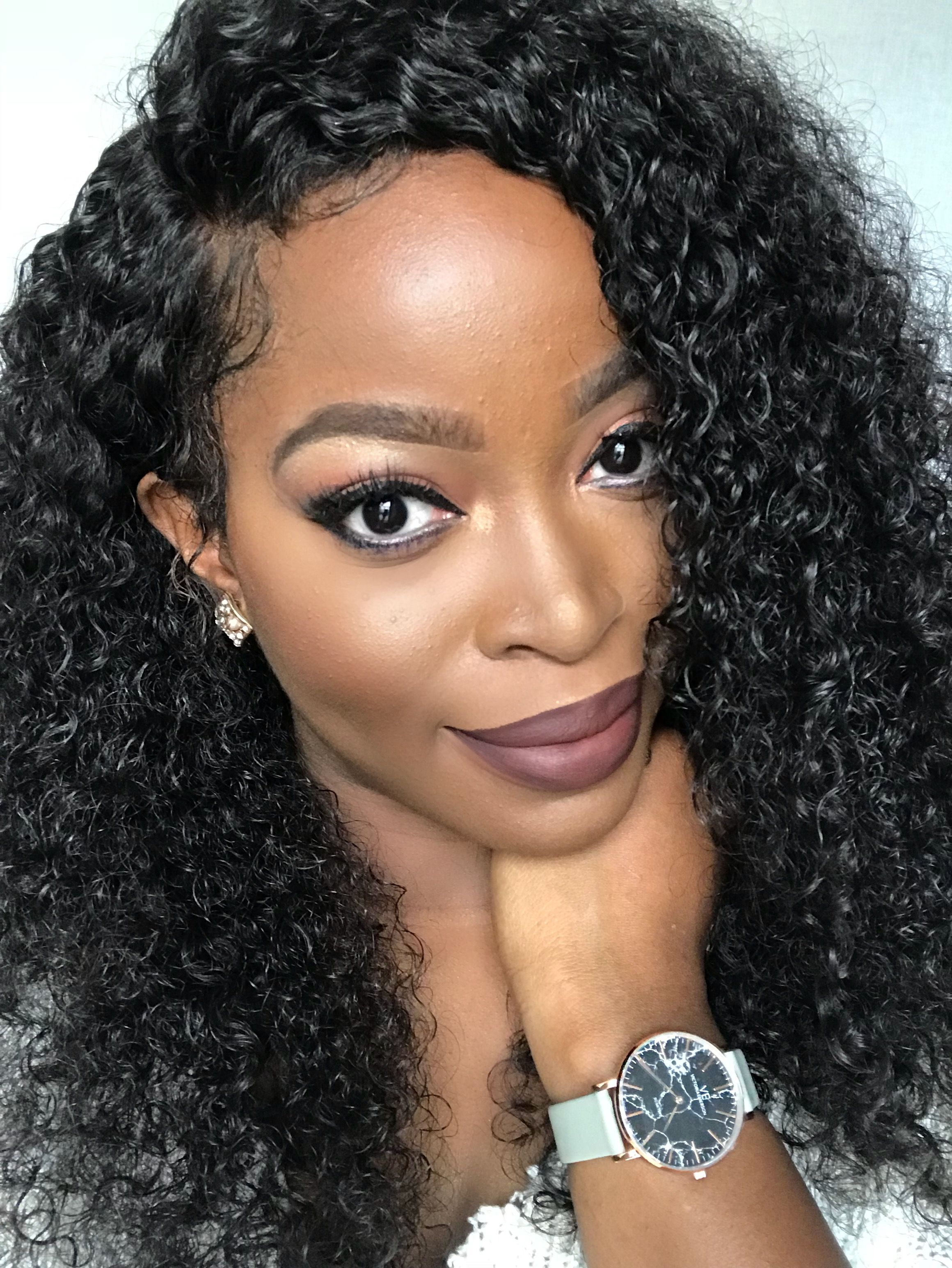Msnaturallymary Rocking The Hergivenhair Curly Full Lace Wig Click