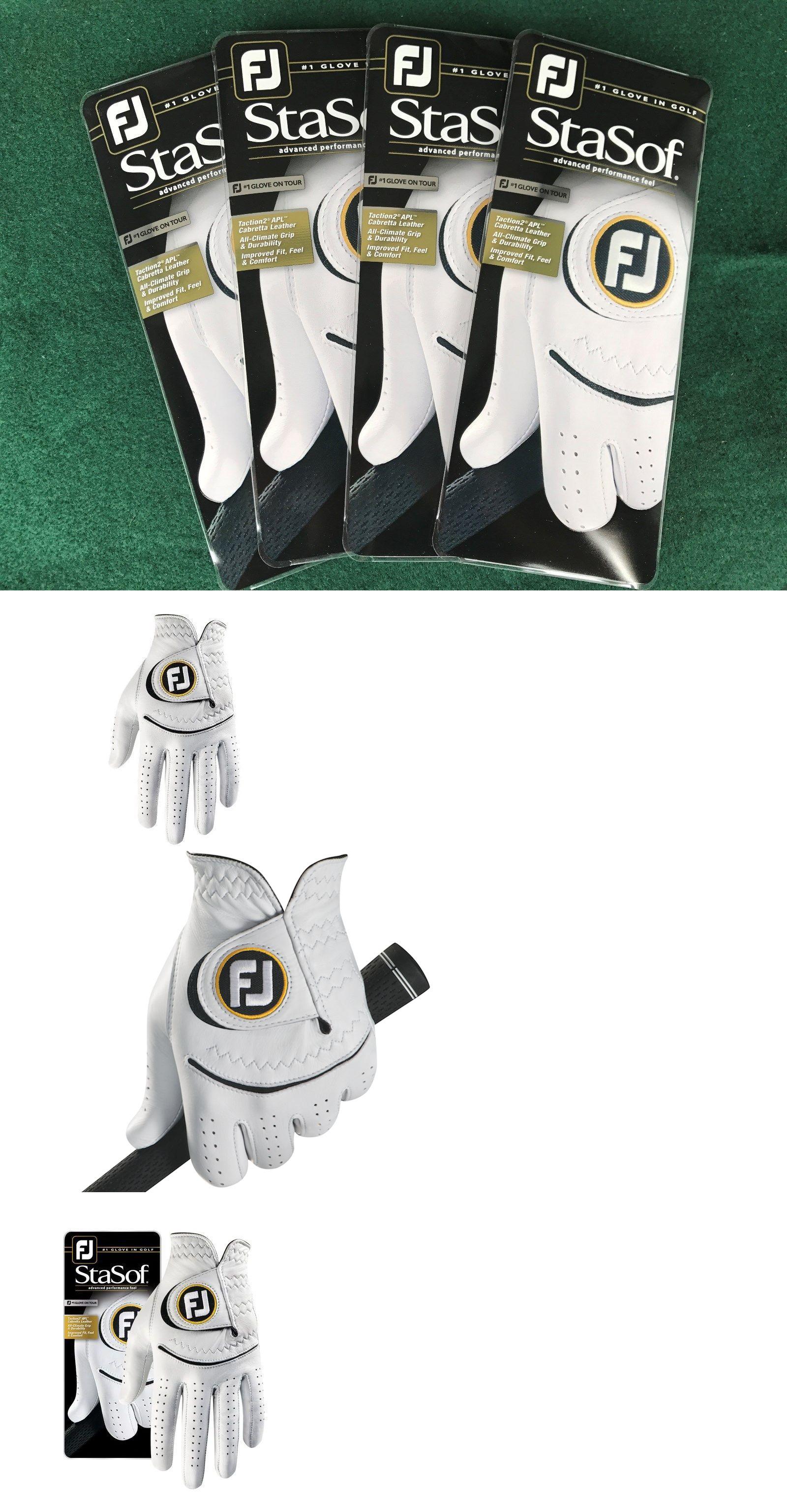 Mens gloves cadet - Golf Gloves 181135 4 New Footjoy Stasof Golf Gloves Mens Cadet Large W Black