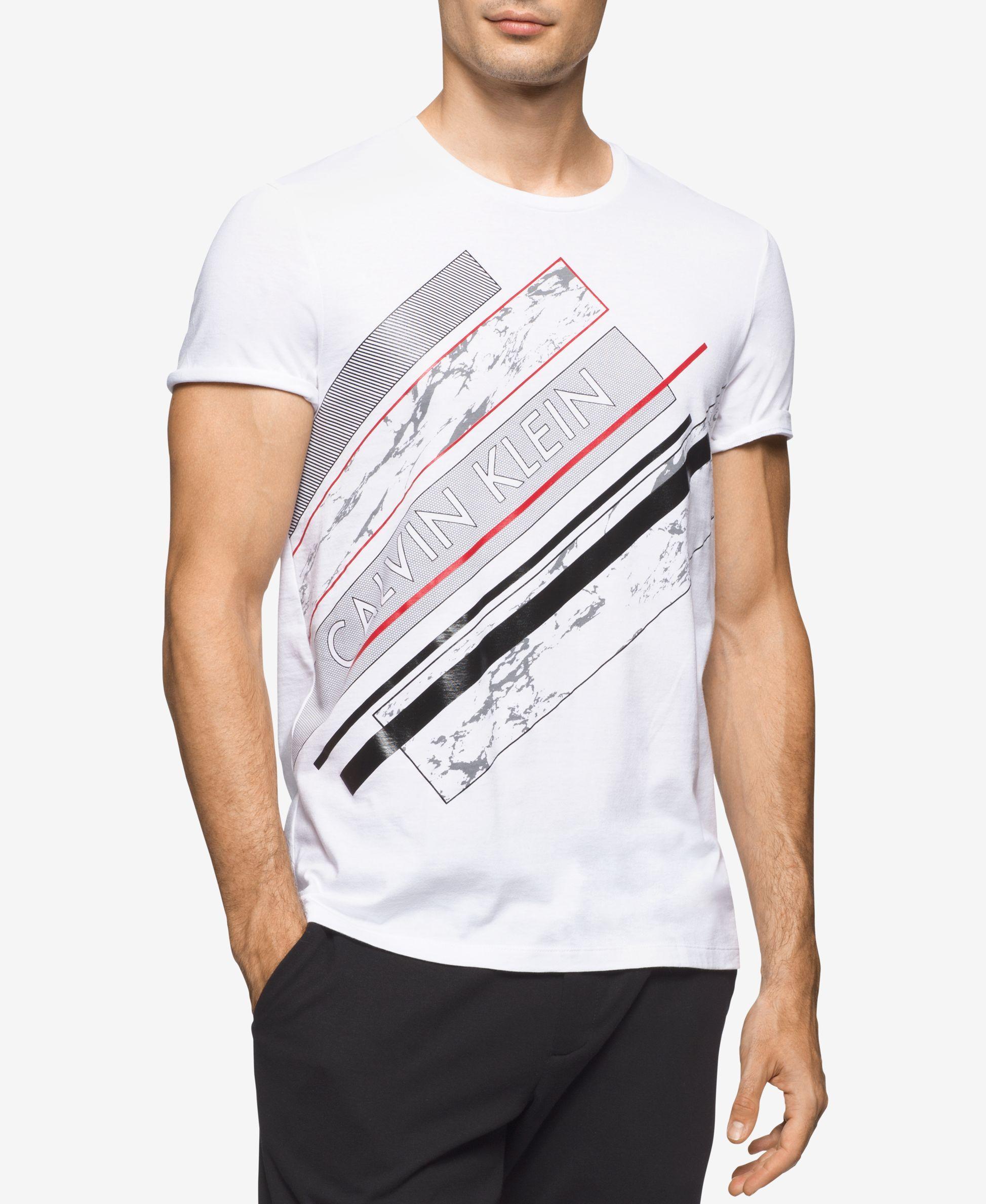 Calvin Klein Men s Graphic-Print T-Shirt   Christmas   Pinterest ... 7b36c76445