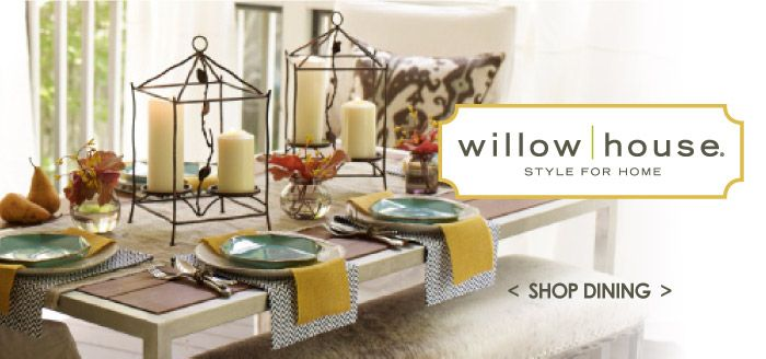 gorgeous new table setting ideas in fun fall colors willow house. Black Bedroom Furniture Sets. Home Design Ideas
