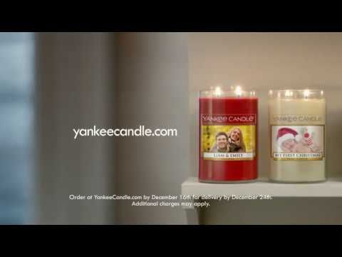 Yankee Candle Holiday 2016 TV Spot (Personalized Candles)