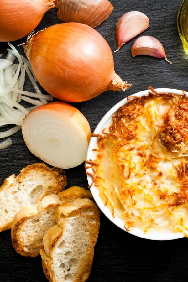 Photo of Recipe for original French onion soup