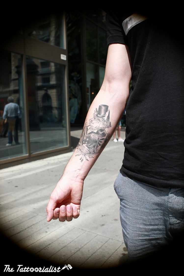 Inked man from Montreal : Ugo ©TheTattoorialist Tattooed by Juliette Paupiette aka Sinnahscorbut Photo by Nicolas Brulez Aka The Tattoorialist