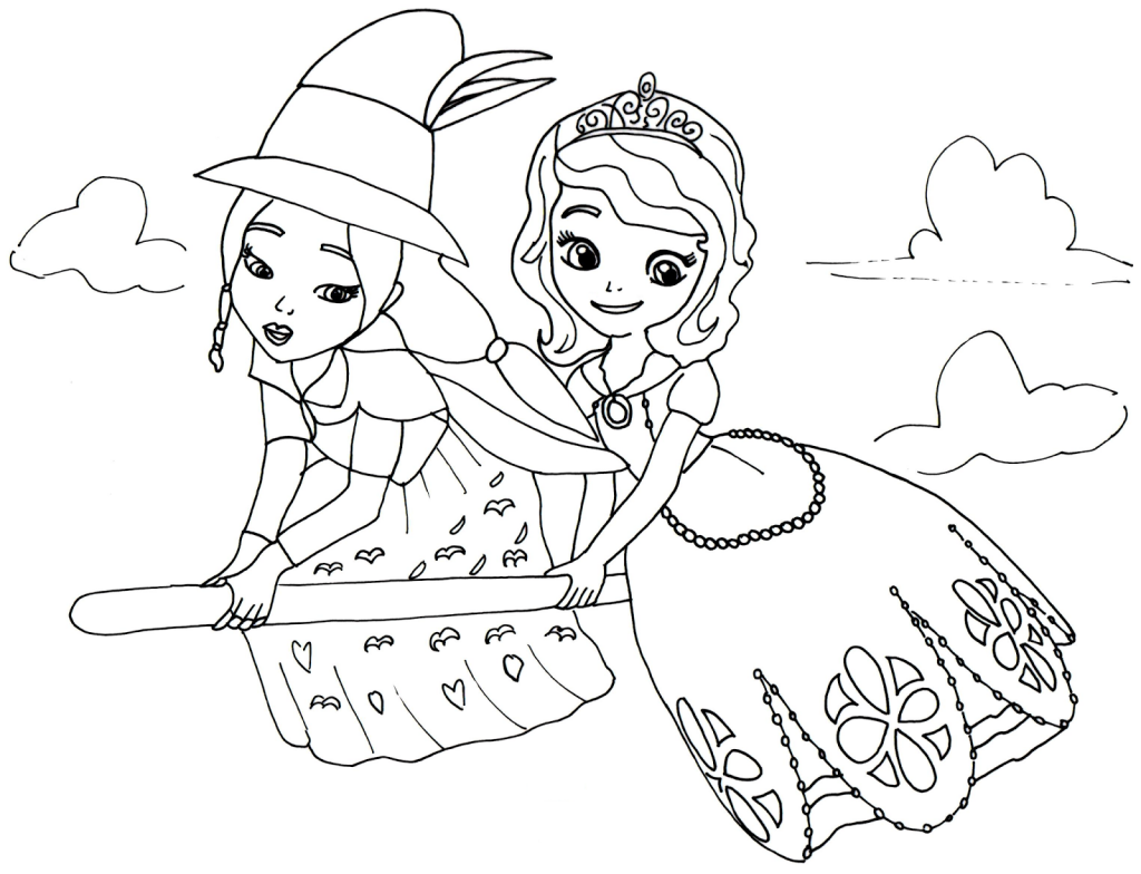 Sofia The First Coloring Pages Best Coloring Pages For Kids Witch Coloring Pages Princess Coloring Pages Mermaid Coloring Pages