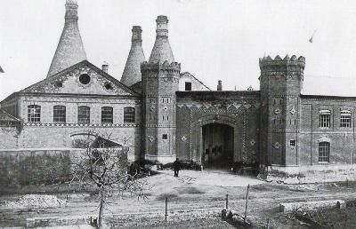 Chimeneas de la antigua fabrica de nolla meliana for Fabrica de chimeneas
