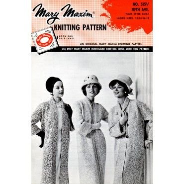 Fifth Ave. Flair Style Coat Pattern - Patterns - Books & Patterns