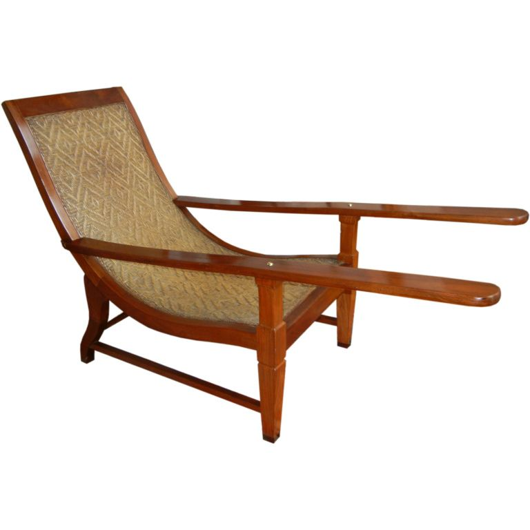 Plantation Chair from British Guiana - Plantation Chair From British Guiana British Guiana, Modern