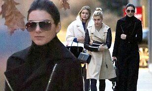 Kendall Jenner assembles model army of Gigi Hadid and Hailey Baldwin #DailyMail