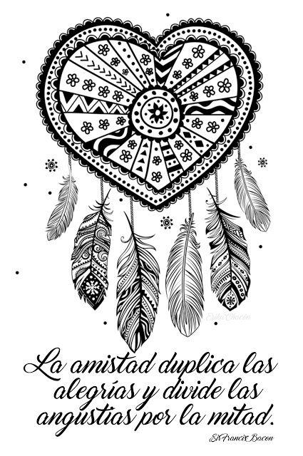 Atrapasueños para Colorear gratis | Colorear | Pinterest ...
