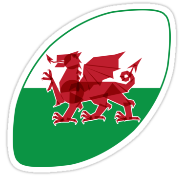 Rugby Wales Sticker  #sixnations #6nations #rugbyworldcup2019 #dragon #Stickers