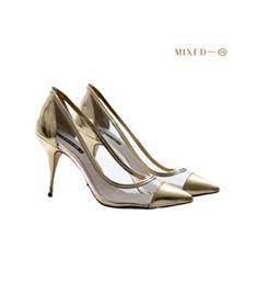 Calçados|Sapato|Dourado | Sapatos femininos, Sapatos