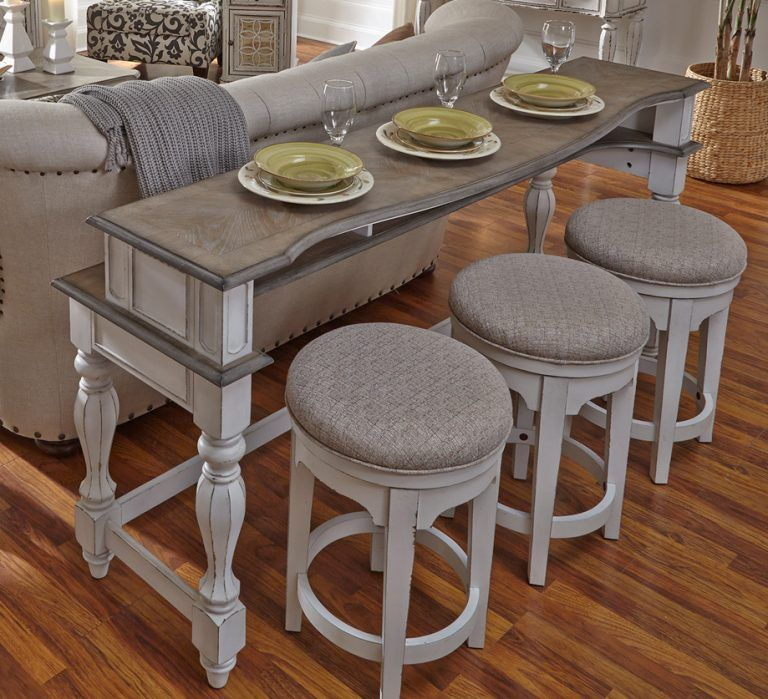 Magnolia Manor Seating Console Table Liberty Furniture Liberty Furniture Furniture Cheap Living Room Furniture
