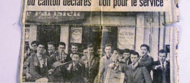 COMPIÈGNE, le 15 février 1962. Il y a 50 ans, ils passaient devant le conseil de révision...
