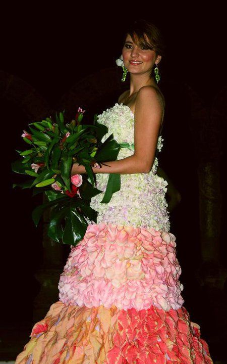 Vallarta Sunset Flower Dress