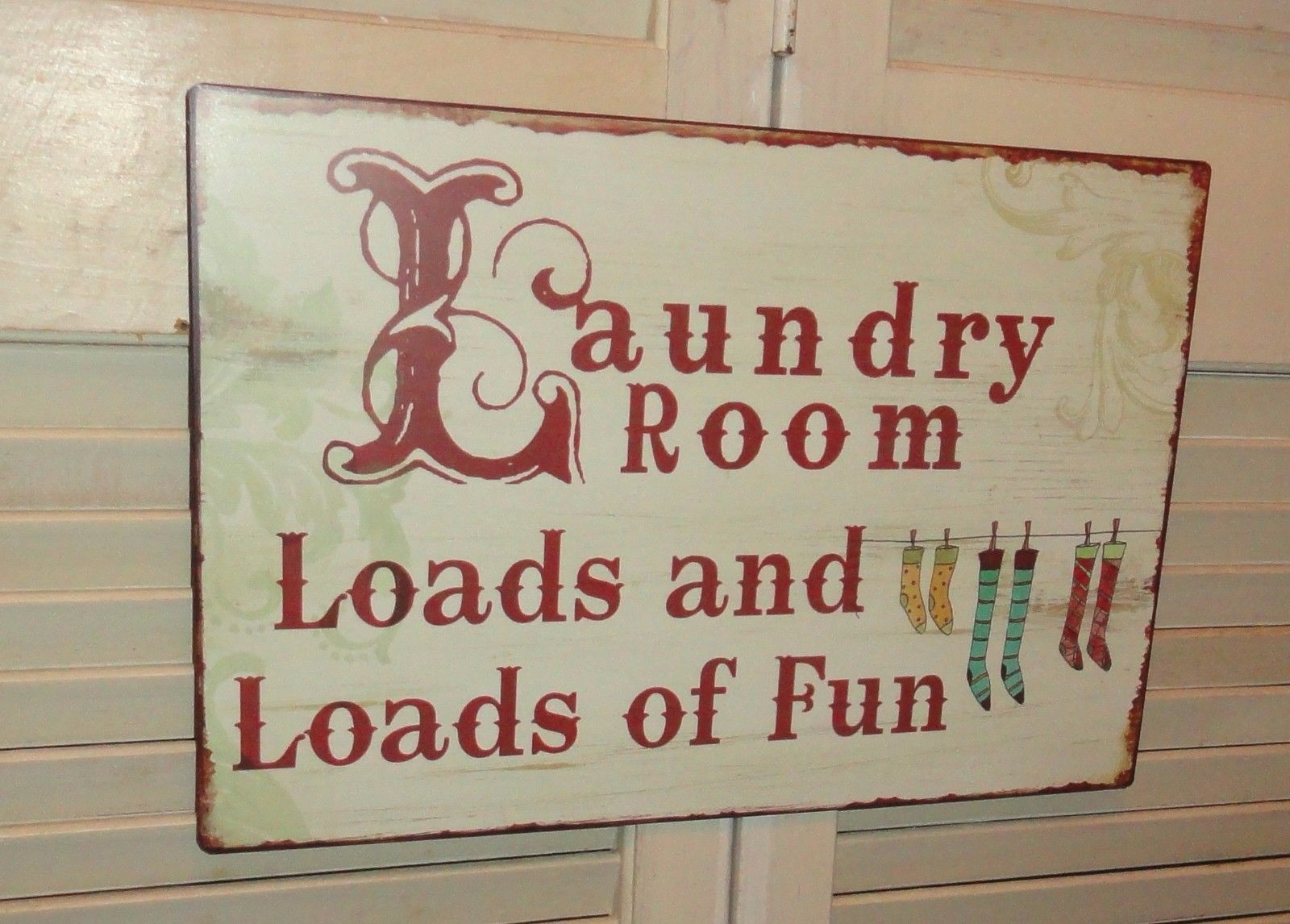 Wall Decor Signs For Home Extraordinary Laundry Room Metal Sign Wall Decor Signs Home Decor Plaques And Review