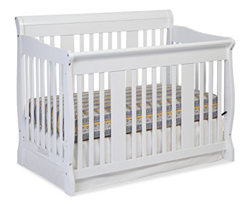 stork craft tuscany 4in1 convertible crib white want additional info click on the