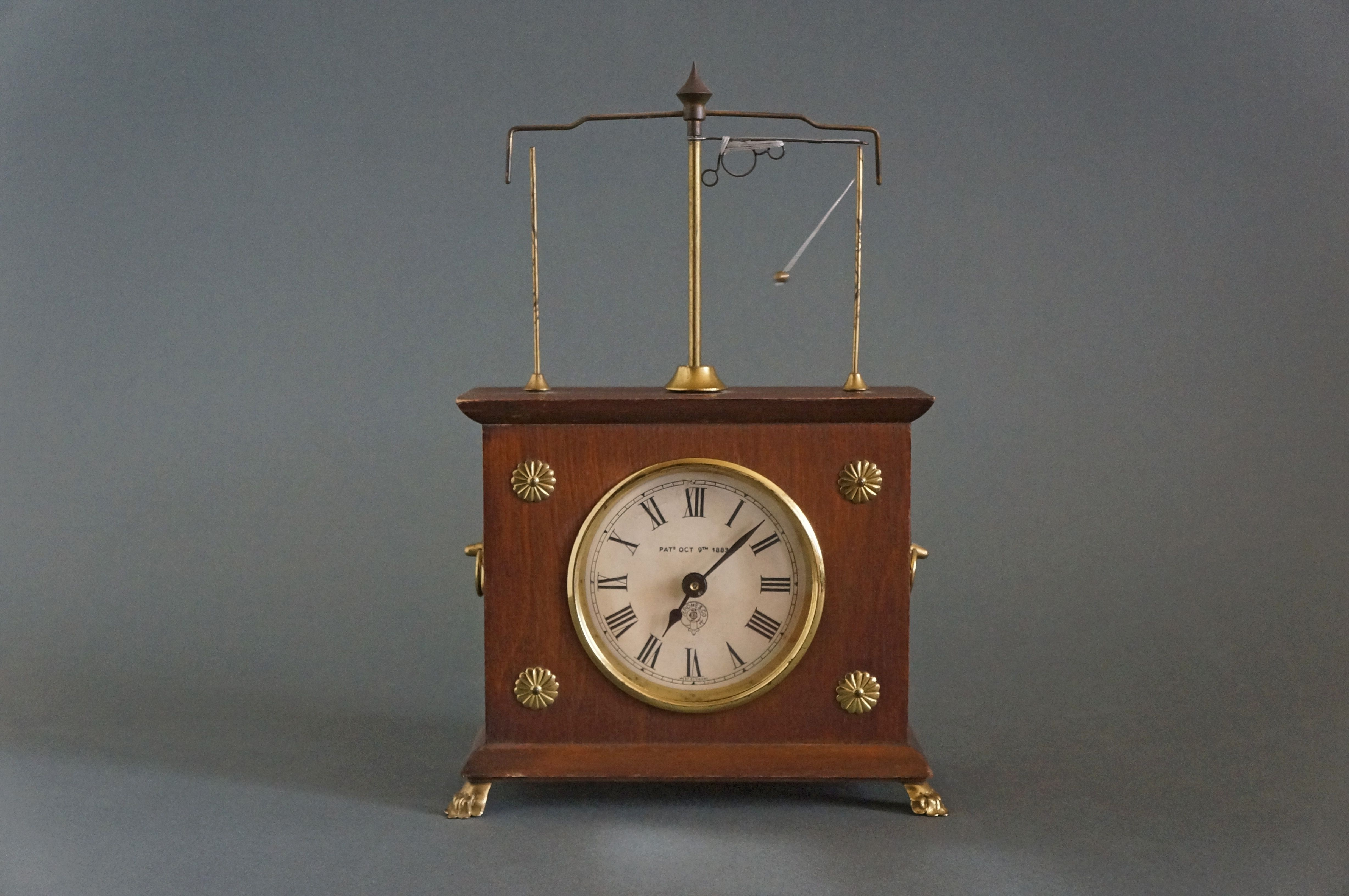 The Craziest Clock In The World The Original Ignatz Flying Pendulum Clock Was Invented By Alder Christian Clausen Of Minneapolis Minnesota It Was Patented
