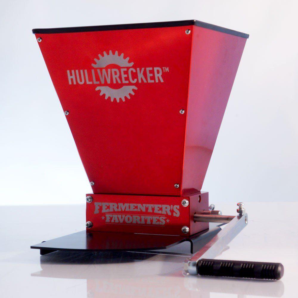 Hullwrecker™ 2-roller Grain Mill & Base | For Henry | Grains