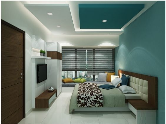 Latest plaster of paris ceiling designs for modern living - Latest ceiling design for living room ...