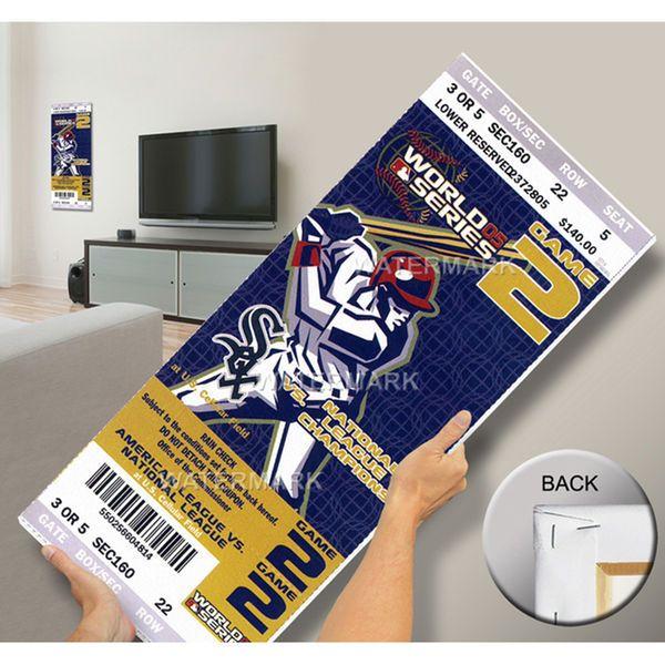 2005 World Series Mega Ticket - Chicago White Sox - $79.99