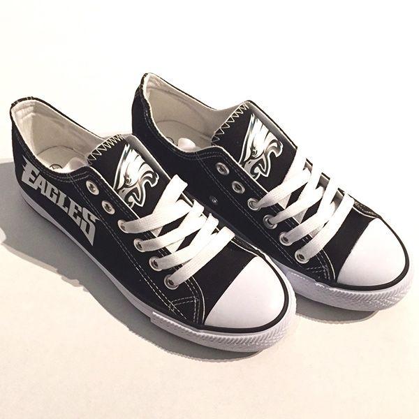 cadbfdde Philadelphia Eagles Converse Style Sneakers - http://cutesportsfan.com/ philadelphia-