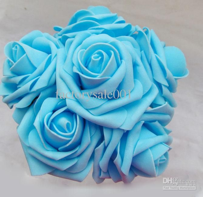 Wedding Bouquets Light Blue Roses Google Search