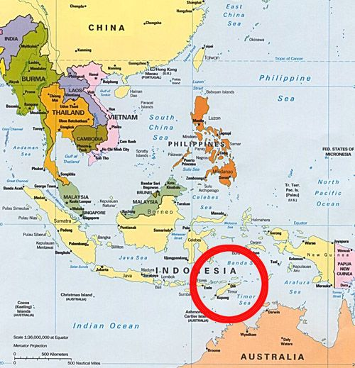 Where is TimorLeste East Timor Asia Macau and Southeast asia