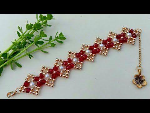 Bracelet Making How To//Beaded Bracelet// Useful &