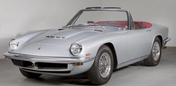 1969 Maserati Mistral 3.7L Spyder   Classic cars, Maserati ...