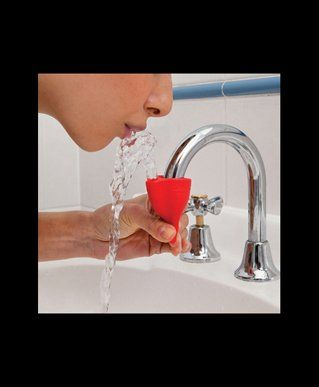 Water Fountain Sink Attachment Just Squeeze At The Bottom To