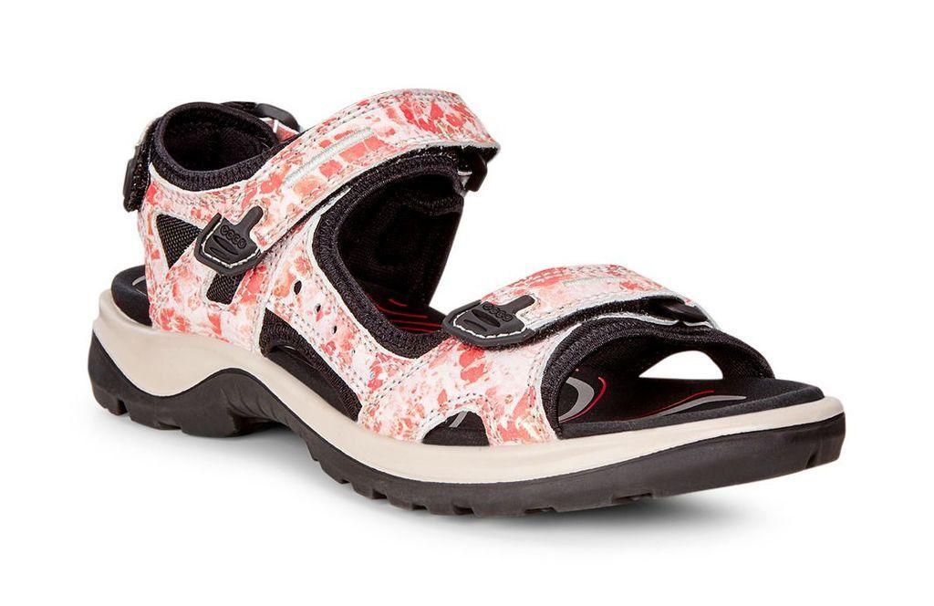 ECCO WOMEN'S YUCATAN OFFROAD SANDAL | Coral blush, Sandals
